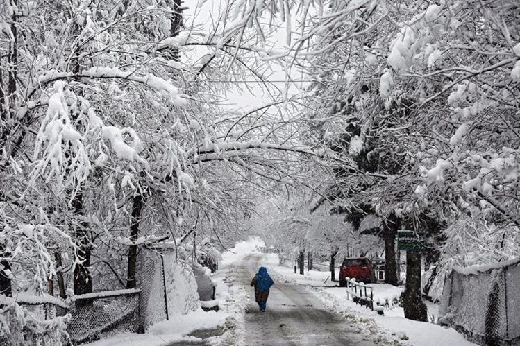 Canadá y el este de EE. UU., enfrenta una ola de frío que puede ser peligrosa. (Foto Prensa Libre: AFP).