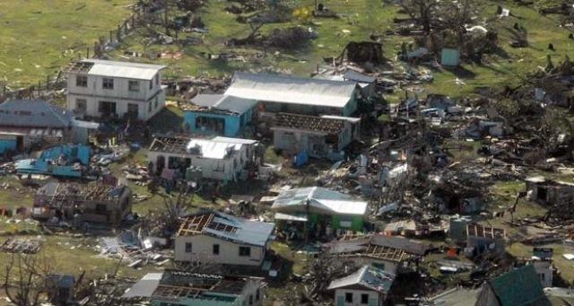 Ciclón Winston deja destrucción y muerte en Fiyi. (Foto Prensa Libre: EFE)