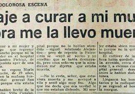 Mujer muere por negligencia medica.