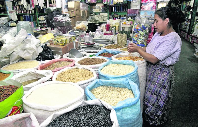 El precio del frijol va en aumento. (Foto Prensa Libre: Hemeroteca PL)