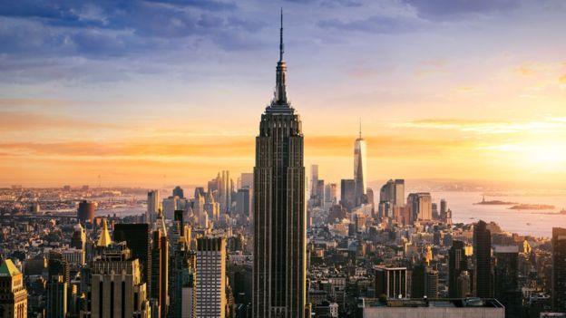 El emblemático Empire State acaba de remodelarse con el objetivo de convertirse en un edificio más ecológico. GETTY IMAGES