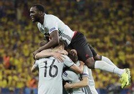 El cuadro belga consiguió los tres puntos frente a Suecia.