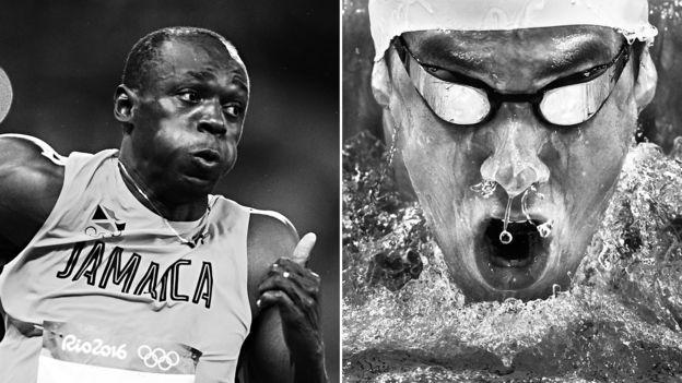 Bolt y Phelps disputaron sus últimos juegos olímpicos en Río 2016. (Getty Images)