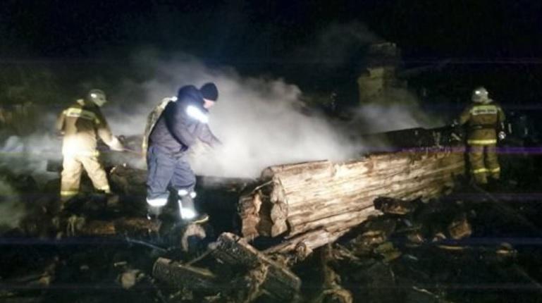 Incendio en Rusia deja varios muertos. (Foto Prensa Libre: EFE)