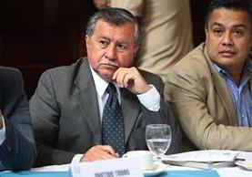Édgar Ovalle asumiría su curul el próximo 14 de enero. (Foto Prensa Libre: Hemeroteca PL)