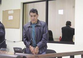 Juan Diego González Reyes fue condenado a 34 años de prisión en Quetzaltenango. (Foto Prensa Libre: María José Longo)