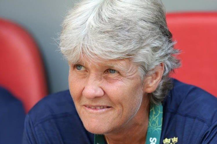 Pia Sundhage, entrenadora de Suecia responde a Hope Solo. (Foto Prensa Libre: AFP)