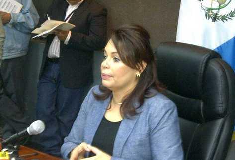 Vicepresidenta Roxana Baldetti. (Foto Prensa Libre: Sergio Morales)