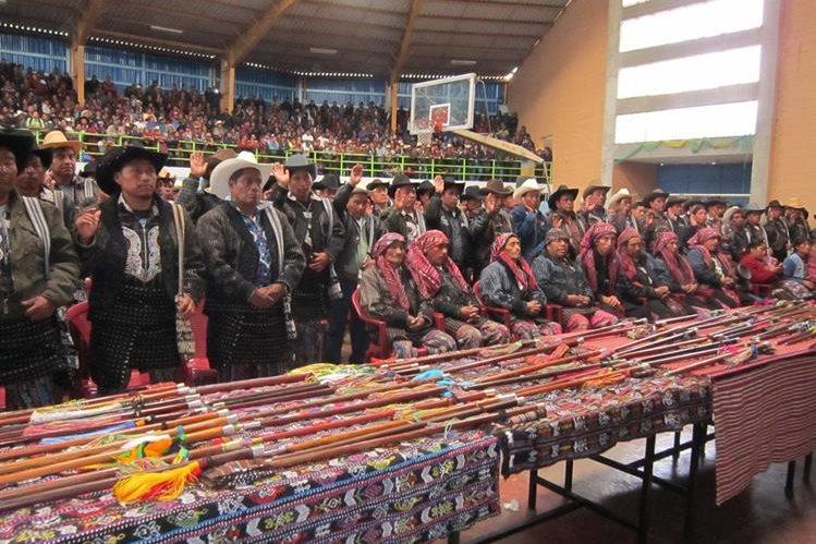 El Observatorio de Pueblos Indígenas señala que los presidenciales carecen de propuestas para esas comunidades. (Foto Prensa Libre: Hemeroteca PL)