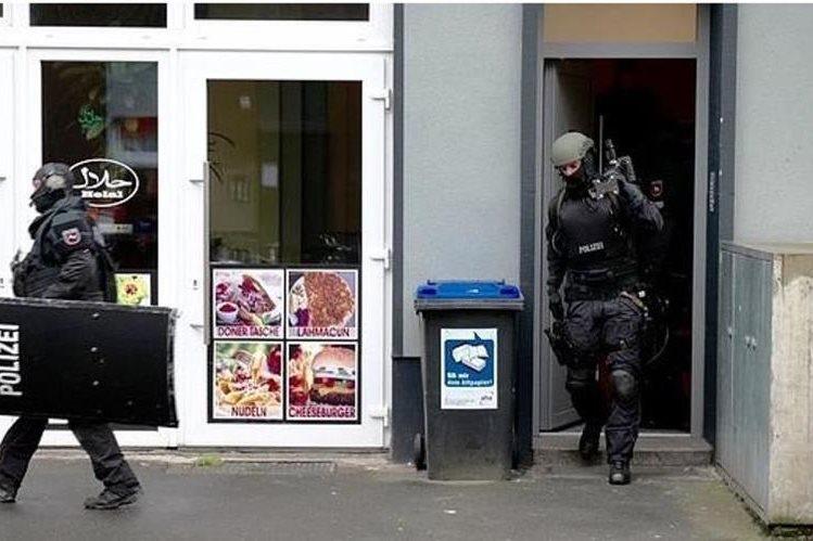 Policía alemana desarticula una célula islamista en la ciudad de Düsseldorf.