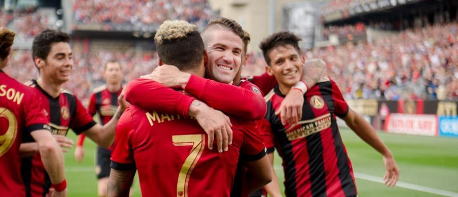 El Atlanta United de la MLS consigue su primera victoria en casa al vencer 4-0 al Chicago Fire. (Foto Prensa Ligre: Cortesía Atlanta United)