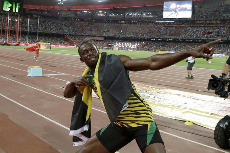 Usain Bolt volvió a demostrar que es el mejor corredor de la historia. (Foto Prensa Libre: AP)