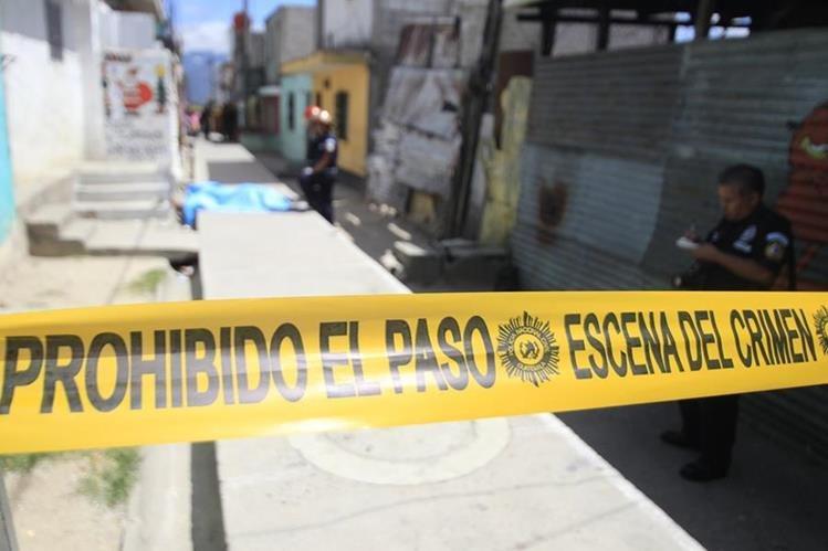Durante enero de 2016 la violencia a cobrado la vida de 55 niños y adolescentes, la mayoría baleados. (Foto Prensa Libre: Hemeroteca PL)