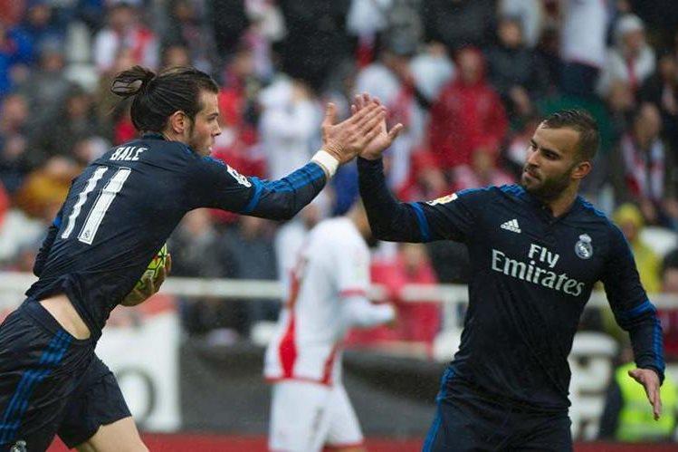Bale fue determinante e hizo olvidar la ausencia de Cristiano Ronaldo. (Foto Prensa Libre: AFP)