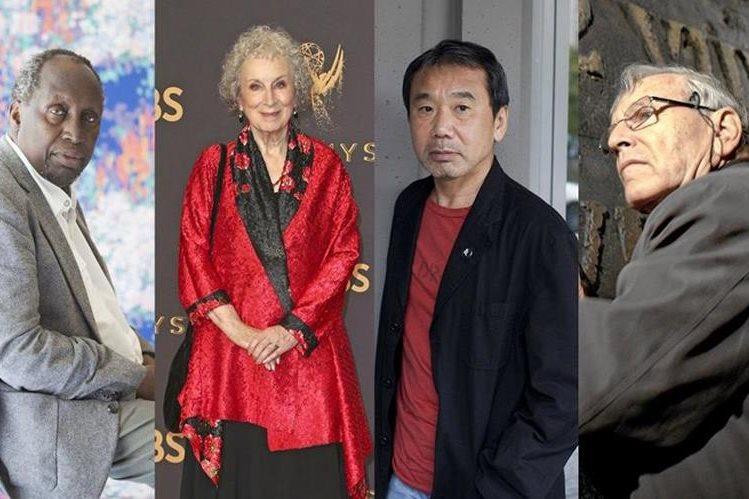Ngugi Wa Thiong'o, Margaret Atwood, Haruki Murakami y Amoz Oz, entre otros, suenan para recibir el Nobel de Literatura (Foto Prensa Libre: Wyborcza).