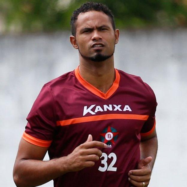 Bruno llegó a entrenar con el Boa Esporte, equipo de segunda división que lo fichó cuando fue puesto en libertad. (Reuters)