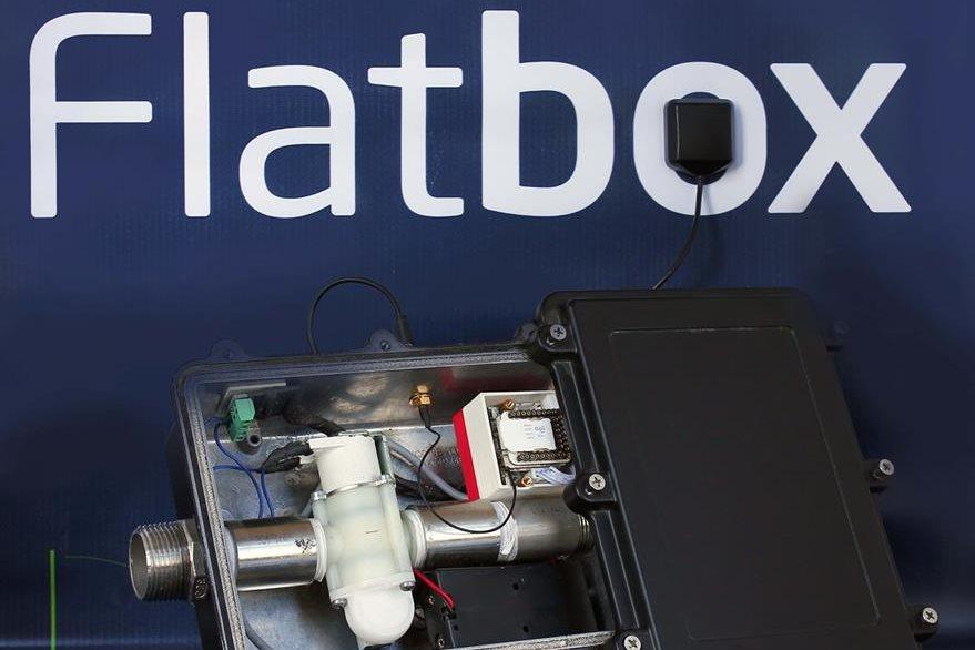 Los creadores de Flatbox afirman que este dispositivo emite alarmas en caso de fuga de agua. (Foto Prensa Libre: Cortesía)