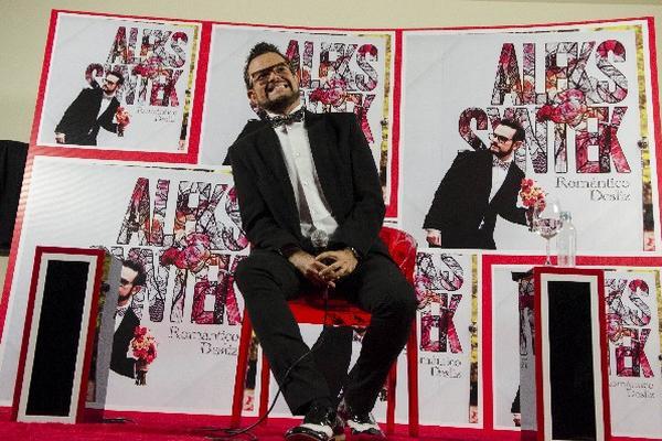 Aleks Syntek presentó nuevo álbum.  (Foto Prensa Libre: AP)