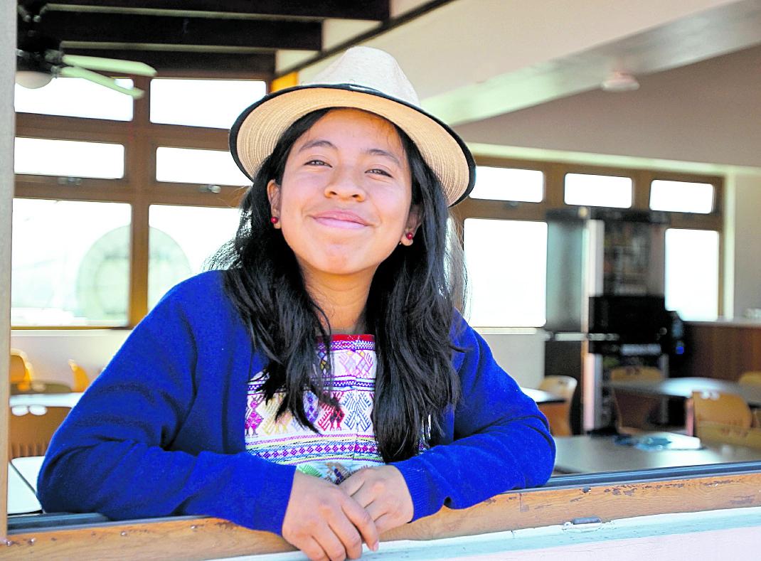 Sara Curruchich es originaria de San Juan Comalapa, Chimaltenango. (Foto Prensa Libre: Hemeroteca PL).