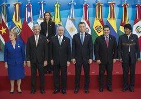 Los participantes del Mercosur instan a Venezuela a la solución por medio de diálogo. (Foto Prensa Libre: AP)
