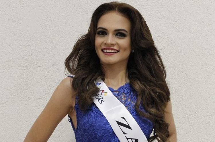 Jennifer Paola Aldana representa a Zacapa