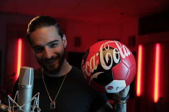 Maluma hará parte de unas de las canciones del Mundial