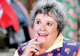 La actriz Evita Muñoz Chachita se encontraba delicada de salud. (Foto Prensa Libre: ovaciones.com)