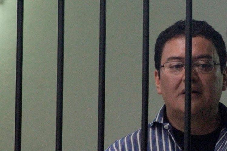 Harol López Sum es sindicado de haber cometido un crimen en Quetzaltenango. (Foto Prensa Libre: María José Longo)