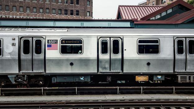 El ascensor y el metro de Nueva York desarrollaron una relación simbiótica. GETTY IMAGES