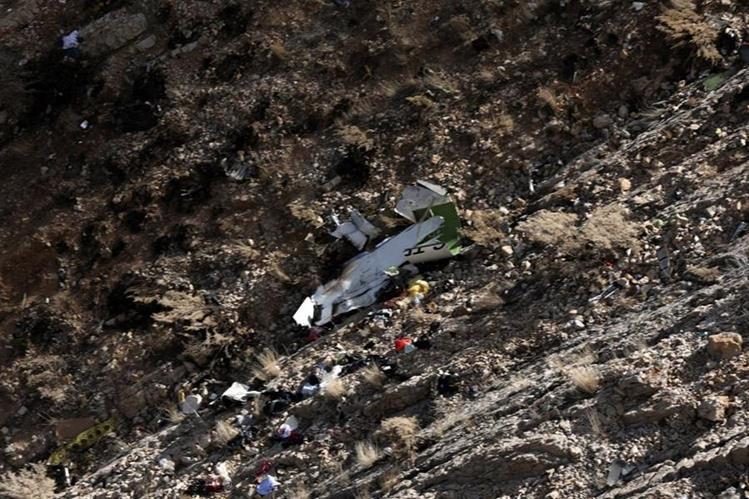 Se estrella avión turco con 11 personas a bordo en Irán