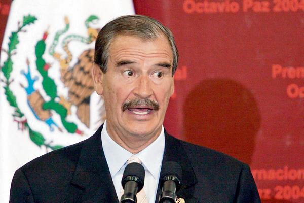 El expresidente mexicano Vicente Fox, criticó el desempeño del actual mandatario Enrique Peña Nieto.