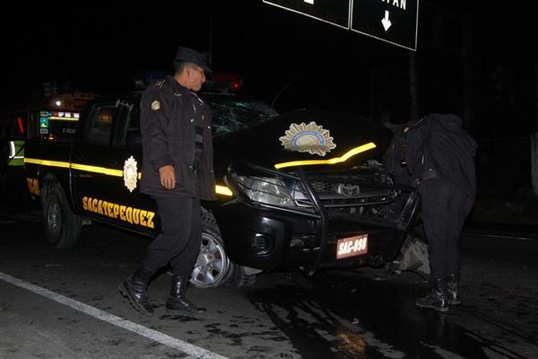 <p>El accidente ocurrió en la madrugada. (Foto Presa Libre: Miguel López).</p>