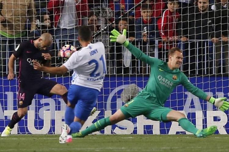 Los hijos de Messi dan suerte al Barcelona