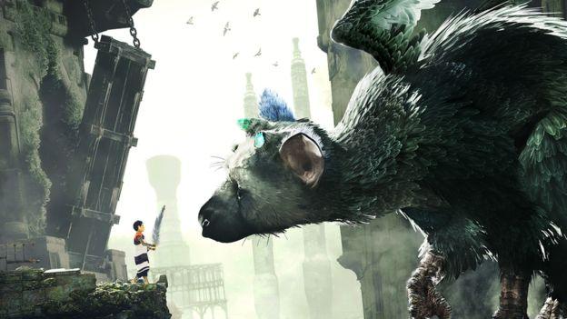 El protagonista de The Last Guardian es un niño que, con ayuda de una enorme criatura, escapa de una ciudad en ruinas. (SONY INTERACTIVE).