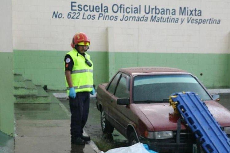Aracely Garzaro Herrera murió en el lugar del ataque. (Foto: Bomberos Municipales)