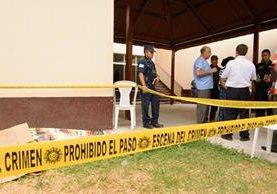Una mujer murió de un paro cardiaco en Cuilapa, Santa Rosa, cuando su esposo sería sentenciado por violación de un menor. (Foto Prensa Libre: Oswaldo Cardona)
