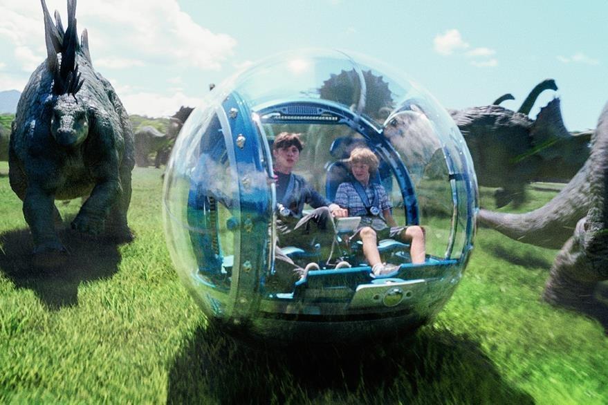 Jurassic World fue dirigida por el cineasta Steven Spielberg. (Foto Prensa Libre AP)