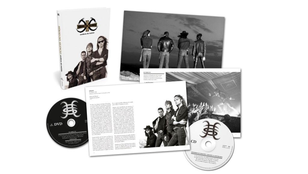 Senderos de traición, 25 Aniversario es la reedición del álbum de Héroes del Silencio. (Foto Prensa Libre: Hemeroteca PL)
