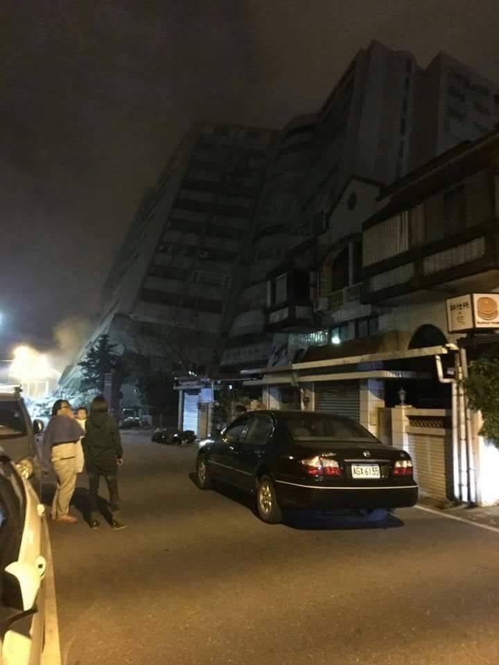 El terremoto registrado el martes último en Taiwán dejó al menos seis muertos y más de 200 heridos. (Foto Prensa Libre: Cortesía)