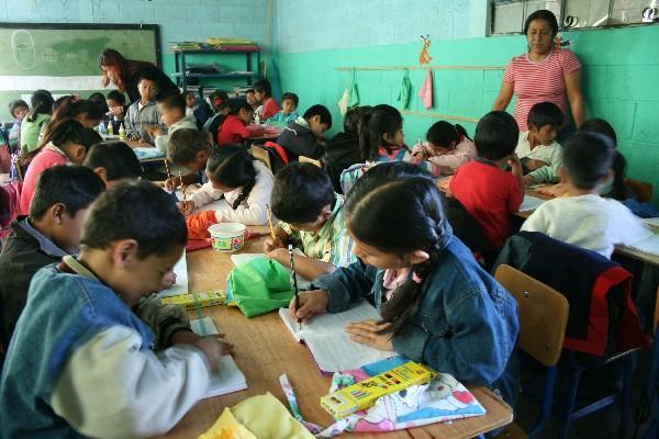 las metas del Milenio permitirán a la población   tener acceso a educación.