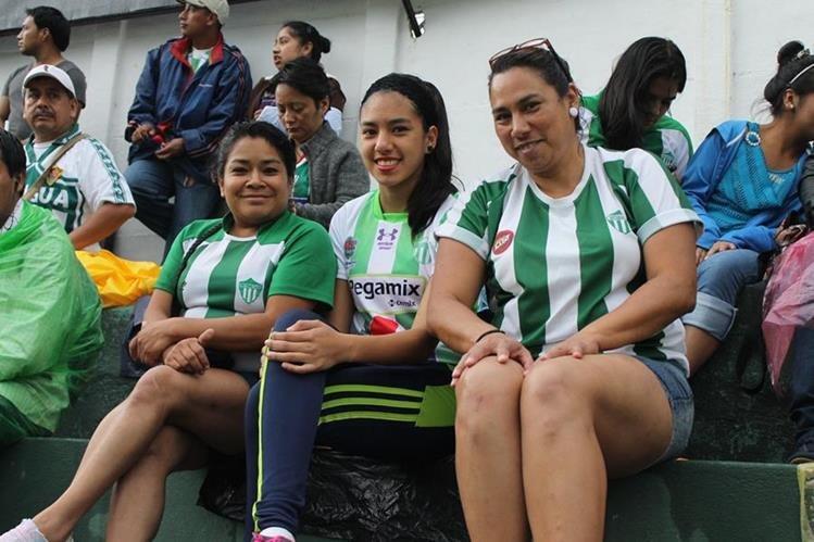 La presencia de seguidores de Antigua GFC ha ido a la baja en las últimas jornadas. (Foto Prensa Libre).