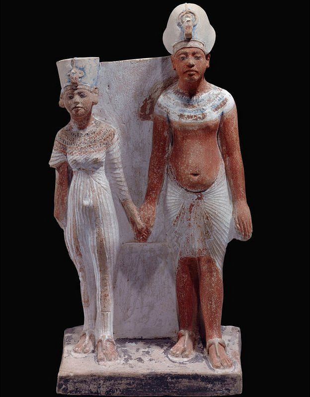 La pareja real empezó a creer que era divina. GETTY IMAGES