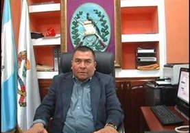 Fredy Noriega, gobernador de Quiché, cuyo nombramiento fue suspendido por amparo provisional. (Foto Prensa Libre, Héctor Cordero)