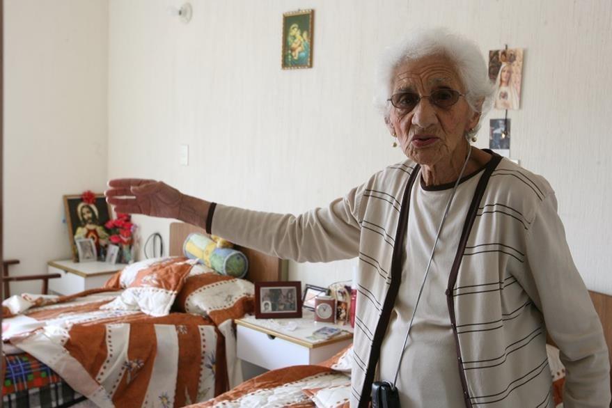 Lilian Lima, madre de Luis Turcios Lima, fue perseguida y empujada al exilio. Acá, en una foto de 2009.(Foto: Hemeroteca PL)