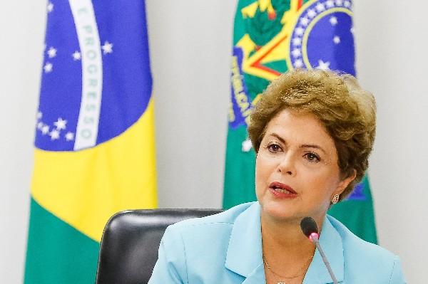 <em>Dilma Rousseff, presidenta de Brasil. (Foto Prensa Libre:AFP).</em>