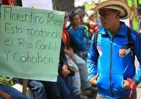 Pobladores piden el cese definitivo de proyecto.