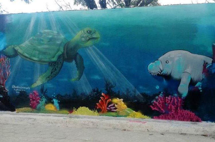 Pinturas resaltan detalles de animales.