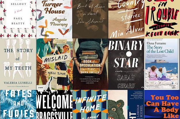 Estas son las portadas de algunos de los libros más populares del momento en Estados Unidos. (Foto Prensa Libre: BuzzFeed).