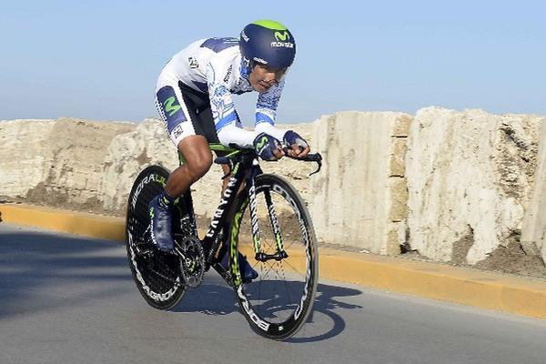 <p>Nairo Quintana buscará mejor el resultado obtenido el año anterior. (Foto Prensa Libre: AP)<br></p>