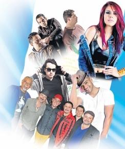 Seis artistas nacionales se presentarán este sábado en concierto. (Foto Prensa Libre: Hemeroteca PL)